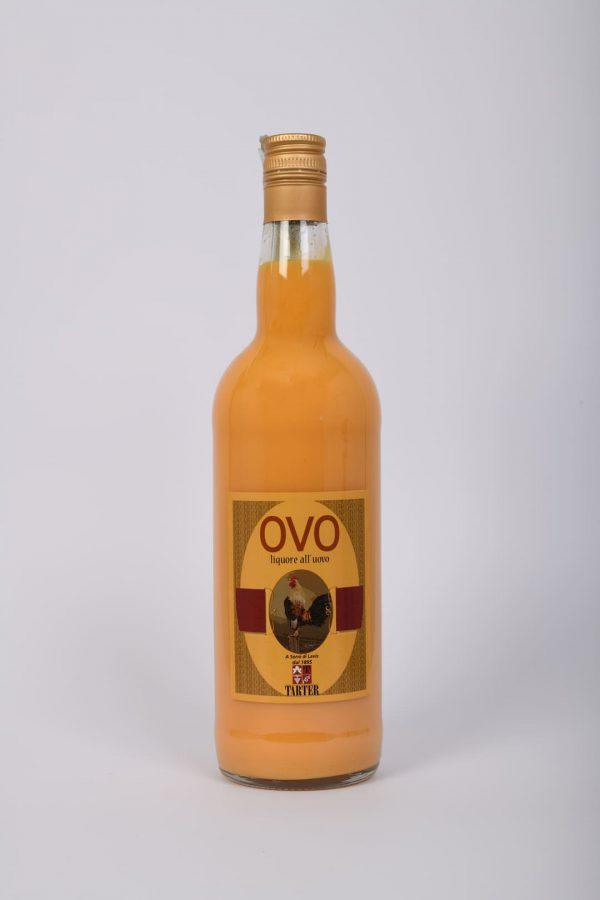 Bottiglia OVO liquore all'uovo da 1 lt