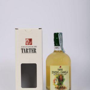 Bottiglia 50 cl di liquore allo zenzero e cannella con scatola